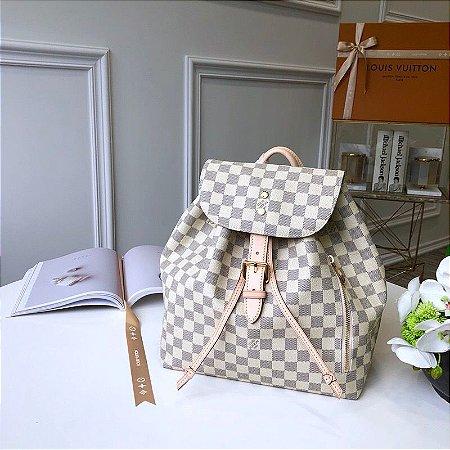 "Mochila Louis Vuitton Sperone Damier Azur ""Rose"""