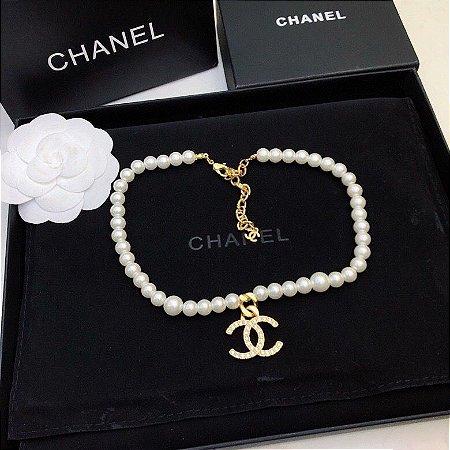"Colar Chanel ""Pearls"""
