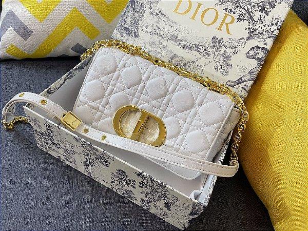 "Bolsa Dior Caro ""White"""