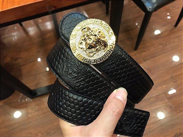 "Cinto Versace ""Black&Gold"""
