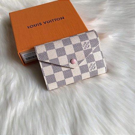 """Carteira Louis Vuitton Victorine """"Damier Azur"""" (PRONTA ENTREGA)"""