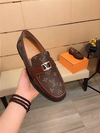 "Mocassim Louis Vuitton Monogram ""Brown"""