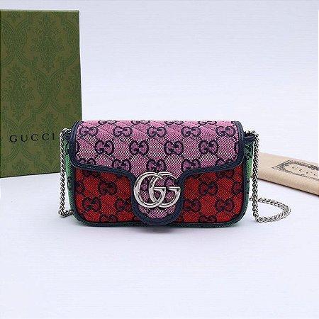 """Bolsa Gucci Marmont Mini """"Multicolor"""""""