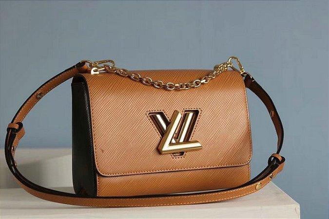 "Bolsa Louis Vuitton Twist ""Brown"""