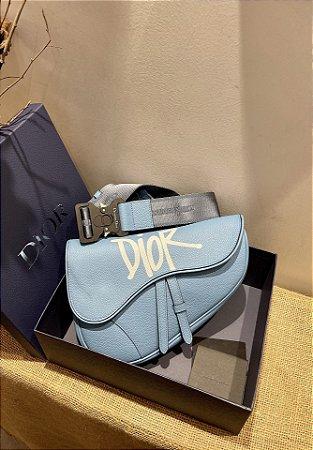 "Bolsa Dior Saddle ""Blue"""