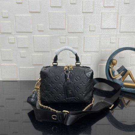 "Bolsa Louis Vuitton Petite Malle ""Noir"" (PRONTA ENTREGA)"