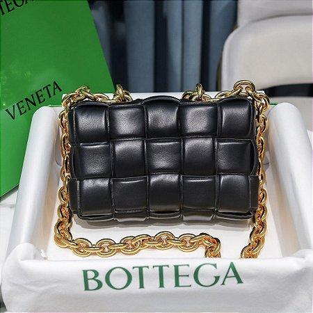 """Bolsa Bottega Veneta Chain Cassette """"Black"""" (PRONTA ENTREGA)"""