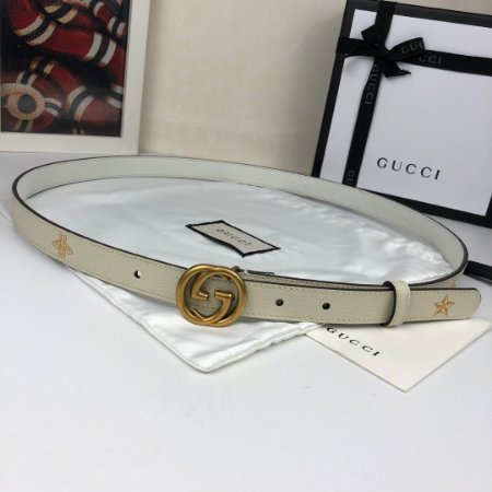 """Cinto Gucci Stars&Bees """"White"""""""