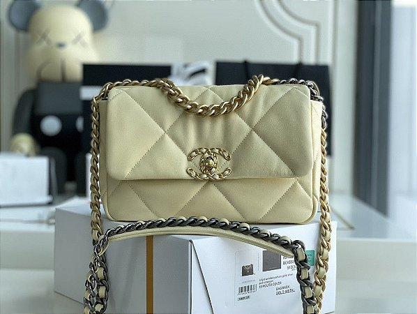 """Bolsa Chanel 19 """"Vanilla"""""""