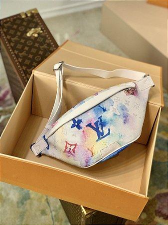 "Pochette Louis Vuitton Bumbag ""Pastel Monogram Watercolor"" (PRONTA ENTREGA)"