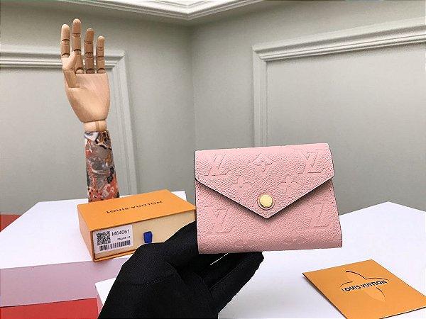 """Carteira Louis Vuitton Victorine """"Rose"""" (PRONTA ENTREGA)"""