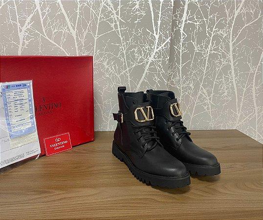 "Bota Valentino ""Black&Gold"" (PRONTA ENTREGA)"