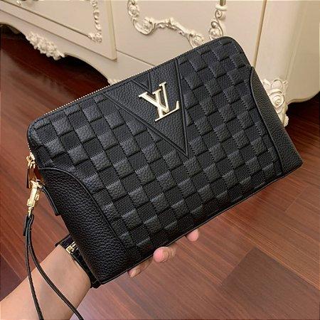 "Pasta de Mão Louis Vuitton ""Black"""
