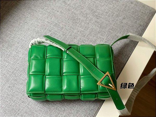 "Bolsa Bottega Veneta Cassette ""Green"" (PRONTA ENTREGA)"