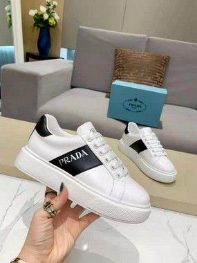 """Tênis Prada Sneaker """"White&Black"""" (PRONTA ENTREGA)"""