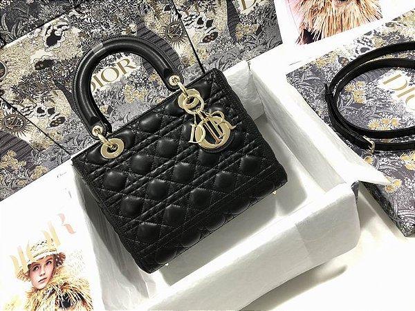 """Bolsa Dior Lady """"Black&Gold"""""""