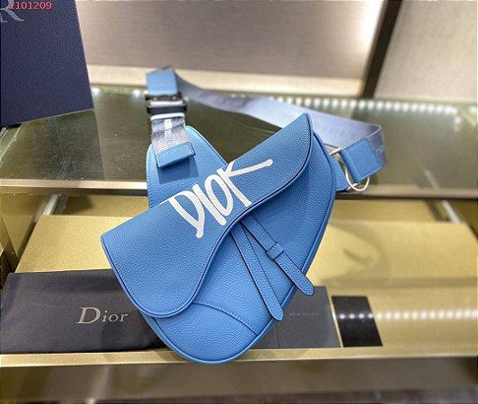 "Bolsa Dior Saddle ""Ocean Blue"""