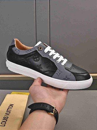 """Tênis Louis Vuitton Sneaker """"Black&Gray"""""""