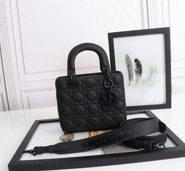 "Bolsa Dior Lady ""Preto-Ultra-Fosco "" (PRONTA ENTREGA)"