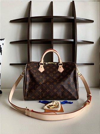 "Bolsa Louis Vuitton Speedy Monogram ""Rose"" (PRONTA ENTREGA)"