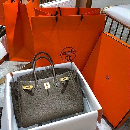 "Bolsa Hermès Birkin ""Gray&Gold"""