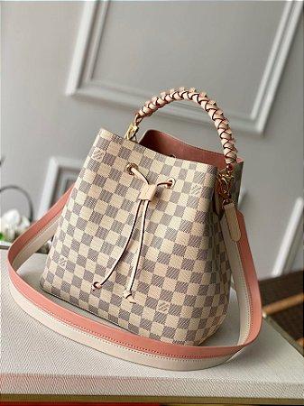 """Bolsa Louis Vuitton NéoNoé """"Rose"""" (PRONTA ENTREGA)"""