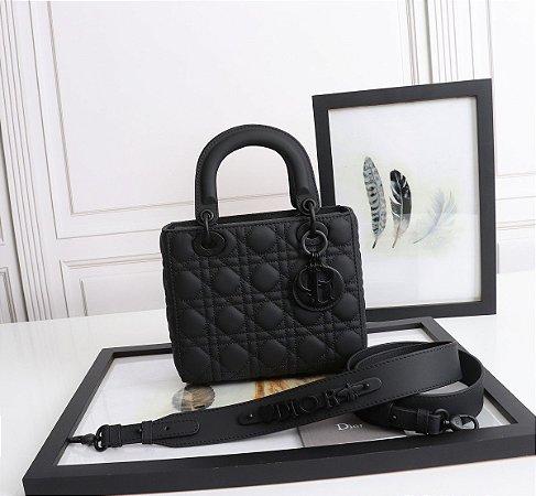 """Bolsa Dior Lady """"Preto-UltraFosco """""""