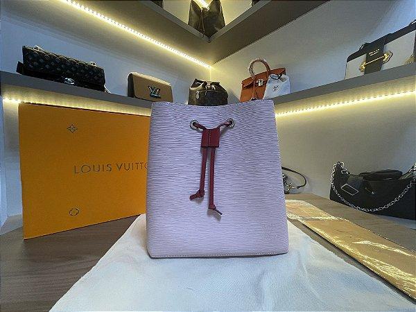 """Bolsa Louis Vuitton NéoNoé Epi """"Rose Ballerine"""" (PRONTA ENTREGA)"""