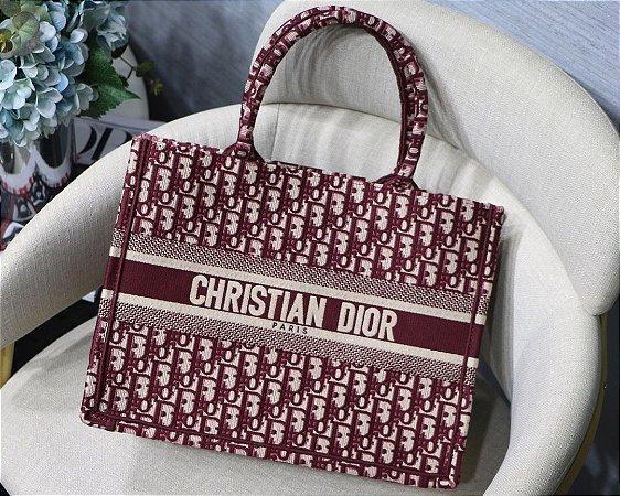 """Bolsa Tote Dior Book  Oblique """"Maple"""""""