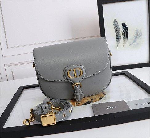 "Bolsa Bobby Dior Média ""Grey"""
