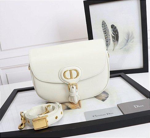 "Bolsa Bobby Dior Média ""White"""