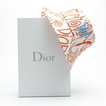 """Bucket Dior and Shawn """"Orange/White/Blue"""""""