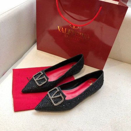 "Sapatilha Valentino ""Black Bright/Red"""