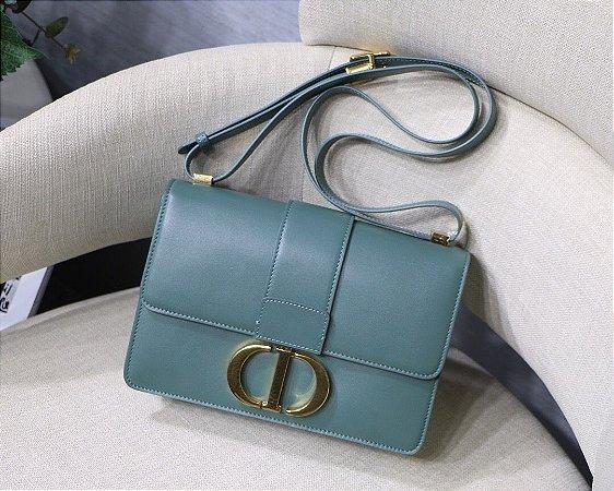 """Bolsa Dior 30 Montaigne Vitelo Box """"Blue Cloud"""""""