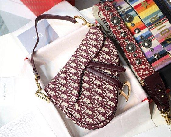 """Bolsa Dior Saddle Oblique Jacquard """"board"""""""