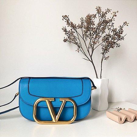 "Bolsa Valentino Supervee ""Blue"" (PRONTA ENTREGA)"