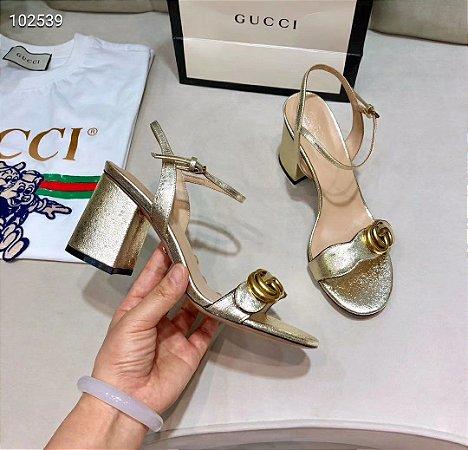"""Salto Gucci Double G """"Silver"""""""