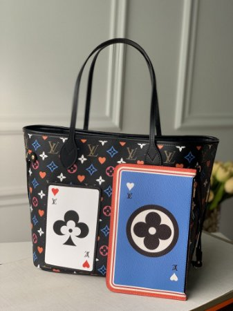 "Bolsa Louis Vuitton Neverfull Monogram Game On ""Noir"""