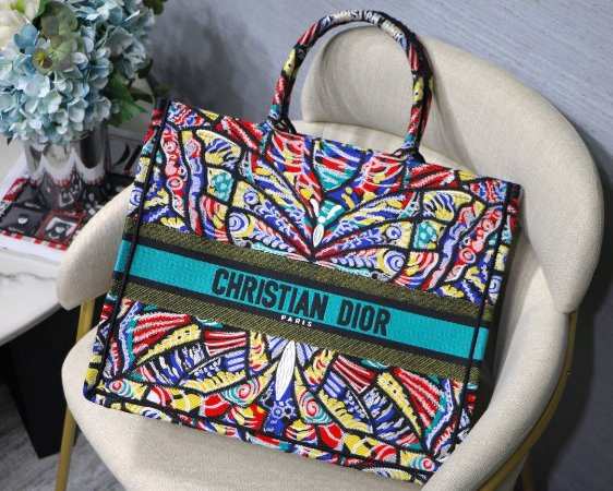"Bolsa Tote Dior Book  ""Butterfly"""