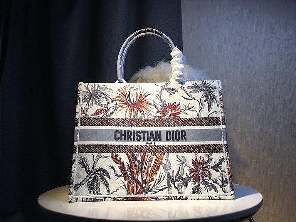 """Bolsa Tote Dior Book """"White Camouflage"""""""