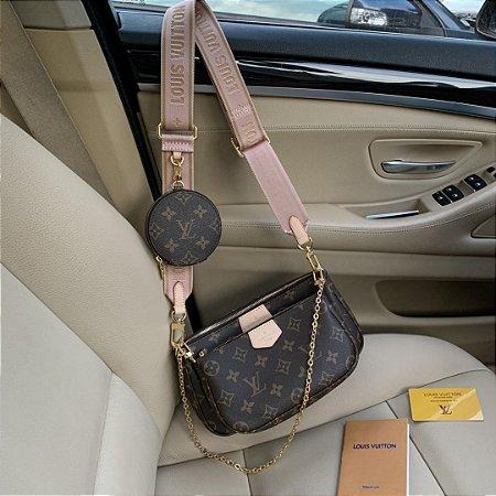 """Multi Pochette Accessoires Louis Vuitton""""Rose Clair"""""""