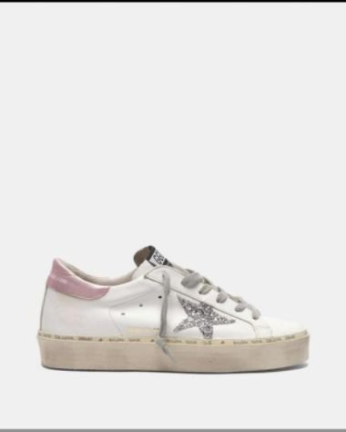 "Tênis Golden Goose Superstar ""Pink"""