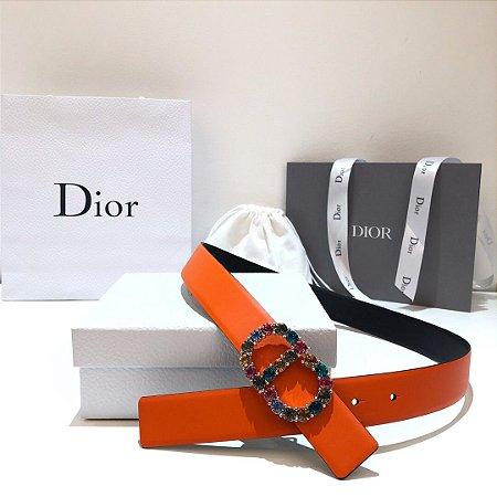 "Cinto Christian Dior Montaigne  ""Pearl"""