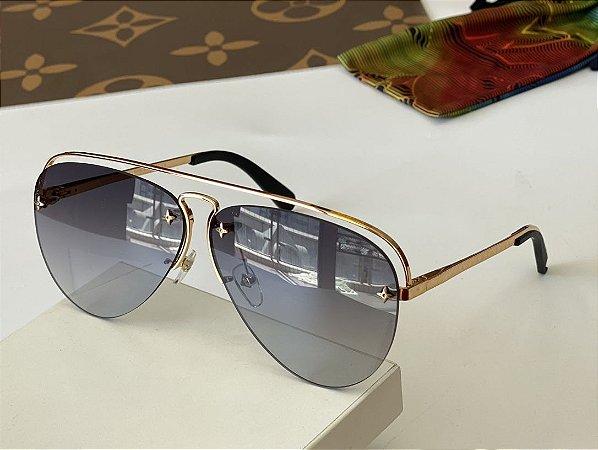 """Óculos Louis Vuitton Grease """"Grey"""""""