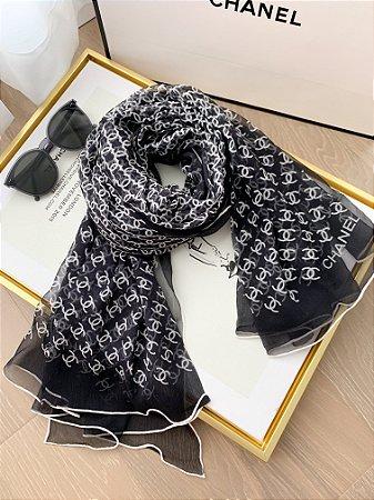 """Cachecol Chanel """"Black&White"""""""