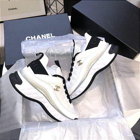 """Tênis Chanel """"White"""""""