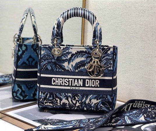 "Bolsa Dior Lady D-Lite ""Palms"""