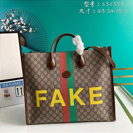 "Bolsa Gucci GG Supreme ""Fake/Not"""