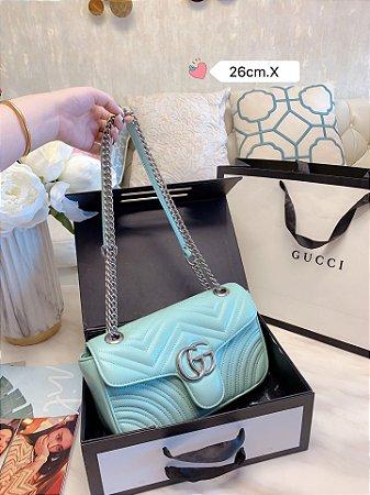 "Bolsa Gucci GG Marmont ""Pastel Blue"""