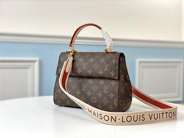 "Bolsa Louis Vuitton Cluny BB Monogram ""Bordeaux"